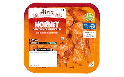 Atria perhetilan kana hornet tulisesti marinoitu siipi 550g