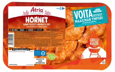 Atria perhetilan kana hornet tulisesti marinoitu siipi 900g