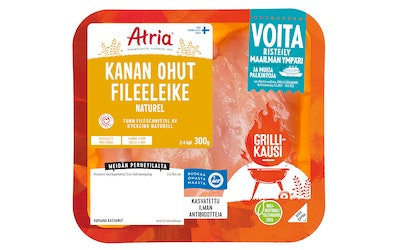 Atria Perhetilan 300g Naturel Kanan Ohut Fileeleike
