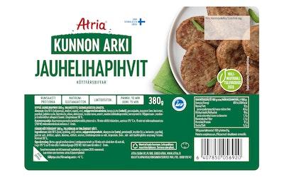 Atria Kunnon Arki jauhelihapihvi 380g