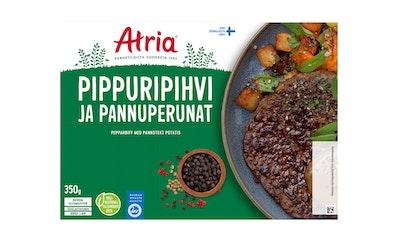Atria pippuripihvi ja pannuperunat 350g