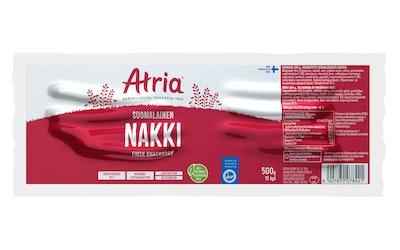 Atria uudistettu suomalainen nakki 500g