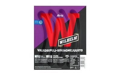 Atria Wilhelm valkosipuli-sinihomejuusto grillimakkara 350g