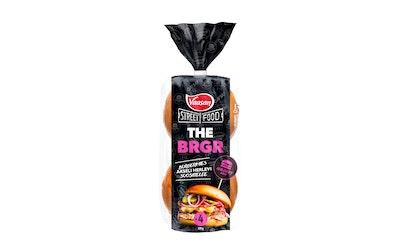 Vaasan THE BRGR Naughty burgerisämpylä 4st/320g - kuva