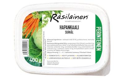 Hapankaali 400g Rasilainen Suomi