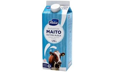 Valio vapaan lehmän rasvaton maito 1,75l