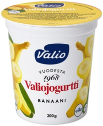 Valiojogurtti 200g banaani