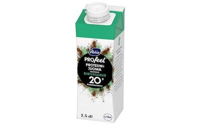 Valio PROfeel proteiinijuoma minttukaakao laktoositon 2,5 dl