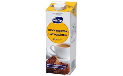 Valio kevytkerma 1 l UHT laktoositon