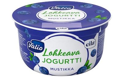Valio lohkeava jogurtti 150g mustikka laktoositon