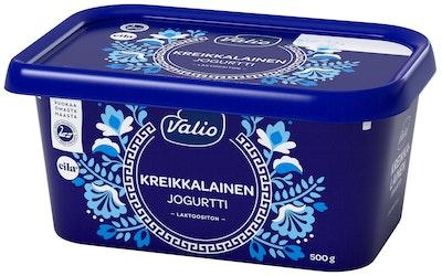 Valio kreikkalainen jogurtti 500g laktoositon