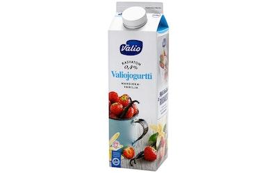 Valiojogurtti 1kg mans-vanilja rasvaton