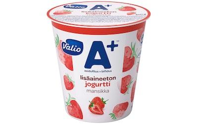 Valio A+ jogurtti 150 g mansikka lisäaineeton laktoositon