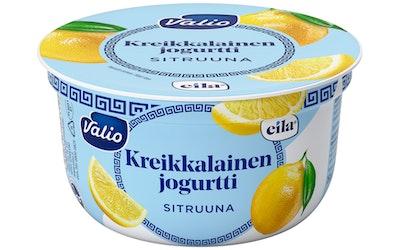 Valio laktoositon kreikkalainen jogurtti 150 g sitruuna