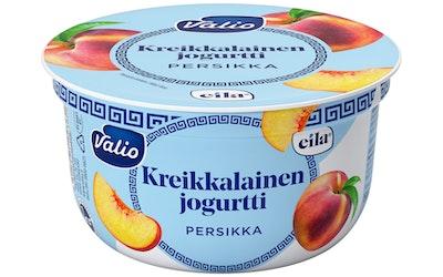 Valio laktoositon kreikkalainen jogurtti 150 g persikka