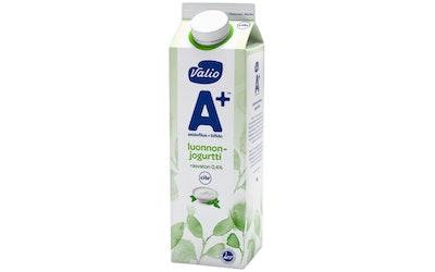 Valio A+™ luonnonjogurtti 1 kg rasvato