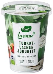 Valio turkkilainen luomujogurtti 400 g