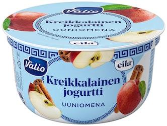 Valio kreikkalainen jogurtti 150g uuniomena laktoositon