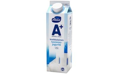 Valio A+ kreikkalainen luonnonjogurtti 1kg laktoositon