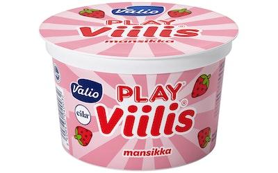 Valio Play Viilis 200g mansikka laktoositon