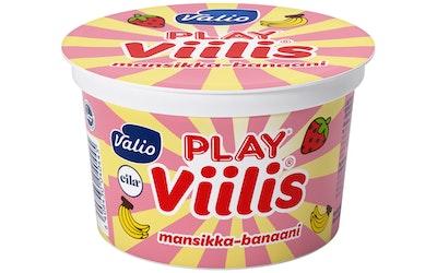 Valio Viilis 200g mansikka banaani laktoositon