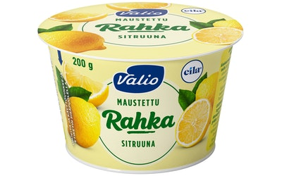 Valio maustettu rahka 200 g sitruuna laktoositon