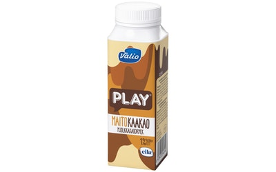 Valio Play®  maitokaakaojuoma 2,5 dl laktoositon