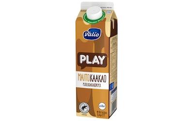Valio Play maitokaakaojuoma 1l lakton