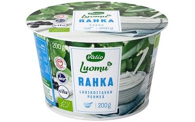 Valio luomu laktoositon maitorahka 200g