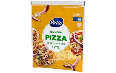 Valio pizzajuusto 400g 17% kevyt raaste