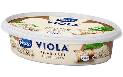 Valio Viola 100 g piparjuuri tuorejuusto laktoositon