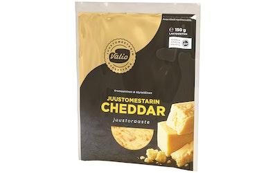Valio Juustomestarin cheddar juustoraaste 150 g