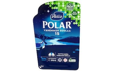 Valio Polar 15 % vähemmän suolaa 270 g viipale