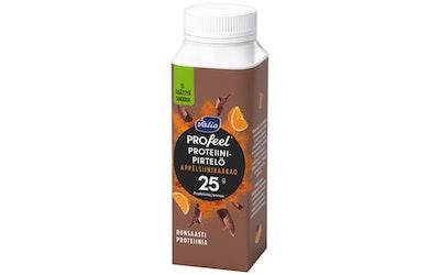 Valio PROfeel  laktoositon proteiinipirtelö appelsiinikaakao 2,5dl
