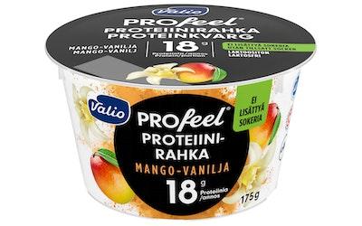 Valio PROfeel proteiinirahka sokeroimaton 175g mango-vanilja laktoositon