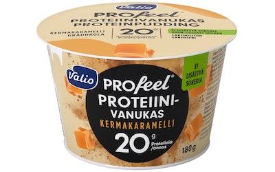 Valio PROfeel proteiinivanukas 180g kermakaramelli laktoositon