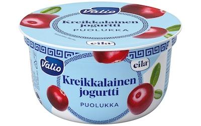 Valio kreikkalainen jogurtti 150 g puolukka laktoositon