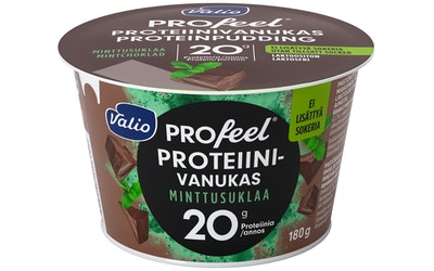 Valio PROfeel proteiinivanukas 180g minttusuklaa laktoositon