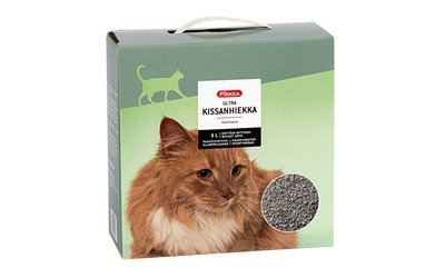 Pirkka ultra kissanhiekka 5 l paakkuuntuva