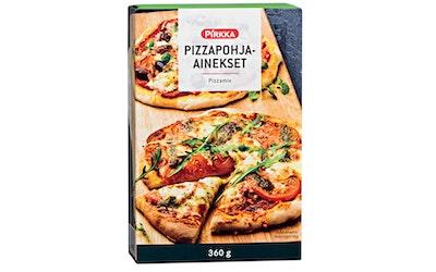 Pirkka pizzapohja-ainekset 360 g