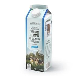 Juustoportti Vapaan lehmän AB-jogurtti 1kg maustamaton
