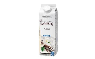 Juustoportti laktoositon AB-jogurtti vanilja 1kg