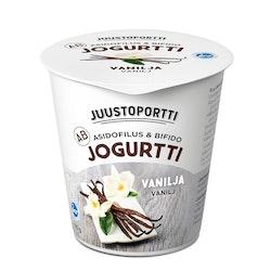 Juustoportti AB-jogurtti vanilja 150g