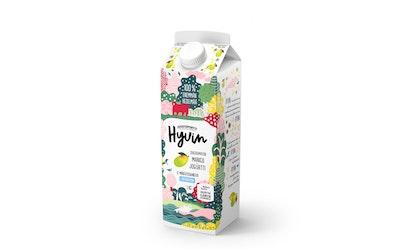 Juustoportti Hyvin sokeroimaton jogurtti 1kg mango laktoositon