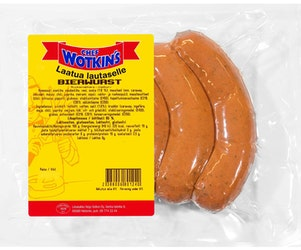 Chef Wotkins 400g Bierwurst ruokamakkara
