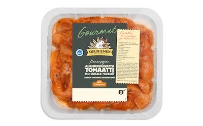 Kariniemen Gourmet Kananpojan iso suikale fileestä aurinkokuivattu tomaatti 400g - kuva