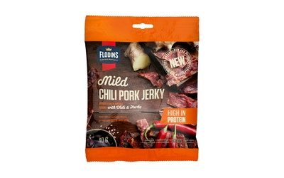 Flodins mild chili pork jerky 40g