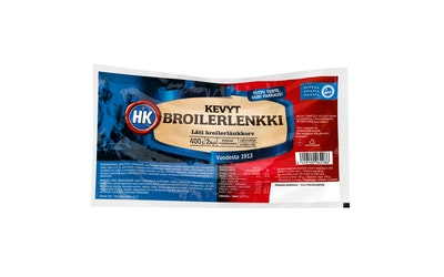 HK Kevyt Broilerlenkki 400g