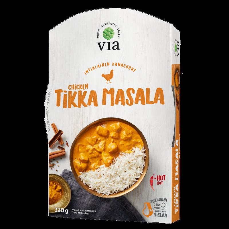 Via Chicken Tikka Masala 320g K Ruoka