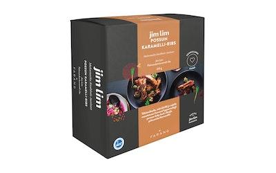 Jim Lim by Farang porsaan karamelli-ribs 610g kypsä - kuva